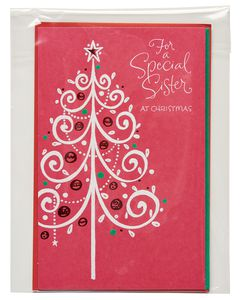 Special Sister Christmas Card for Sister