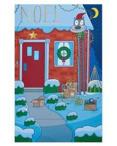 Noel Christmas Greeting Card