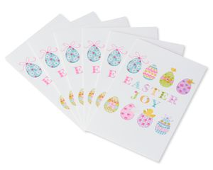 Easter Joy Easter Card, 6-Count
