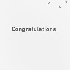 2019 Congratulations Graduation Card