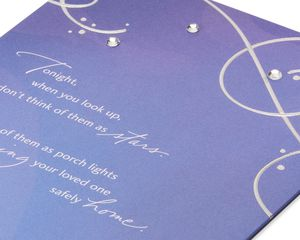 Stars Sympathy Card
