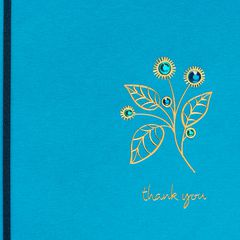 Flower Thank You Greeting Card