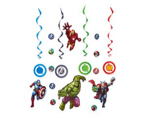 Avengers Epic Room Decorating Kit, Party Supplies