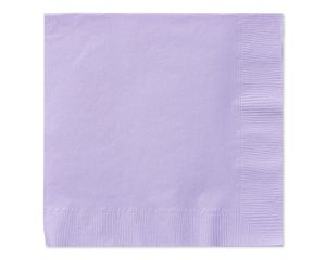 lavender lunch napkins 50 ct