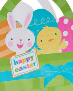 Small Easter Bunny and Chick Gift Bag