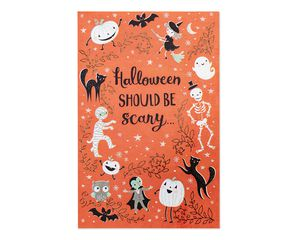 Scary and Sweet Halloween Card