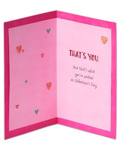 sweet wonderful good valentine's day card