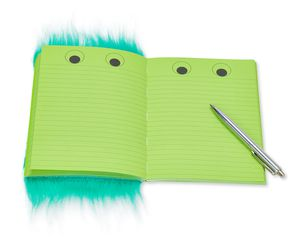 Warm Fuzzy Aqua Notebook