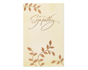 Caring Comfort Sympathy Card