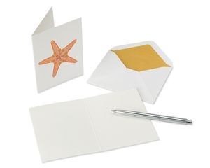 Sea Creatures Boxed Cards and Envelopes, 20-Count