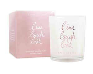 Katie Loxton Live Laugh Love Candle