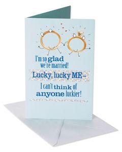 Lucky Anniversary Card