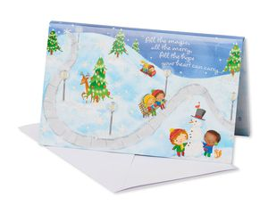All The Magic Christmas Greeting Card