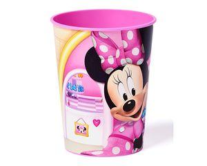 minne mouse bow-tique plastic stadium cup 16 oz.