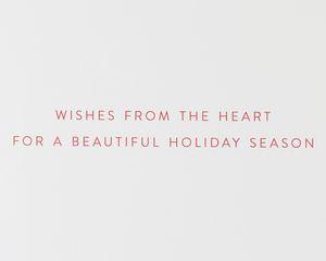Wreath Christmas Greeting Card