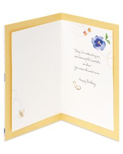 Kathy Davis Floral Thinking of You Card