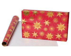 Magic Star Holiday Wrapping Paper