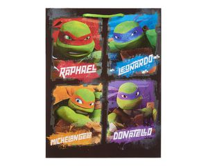 large teenage mutant ninja turtles gift bag