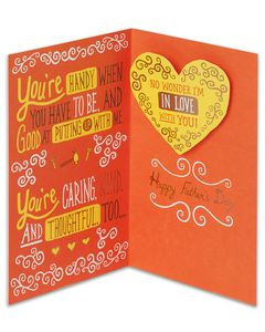 In Love Father's Day Card for Husband