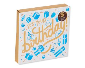Gifting Pop-Up Gift Card Holder Birthday Card