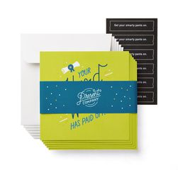 Hard Work Graduation Card, 6-Count