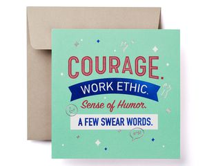 Courage Father's Day Card