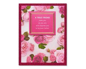 true friend valentine's day card