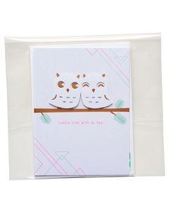 Cuddle Time Christmas Card