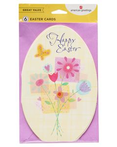 Springtime Easter Card, 6-Count