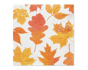 Autumn Days Paper Lunch Napkins, 16-Count