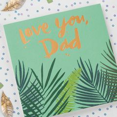 Love You Father's Day Card