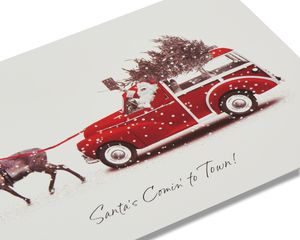 Santa's Station Wagon Christmas Boxed Cards, 14 Count