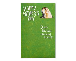 Golf Course Father's Day Card