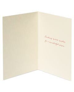 Happy Holidays Holiday Boxed Cards, 14-Count