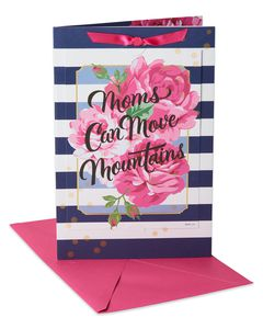 Move Mountains Mother's Day Card