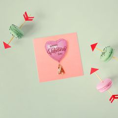 Balloon Valentine's Day Cards, 6-Count