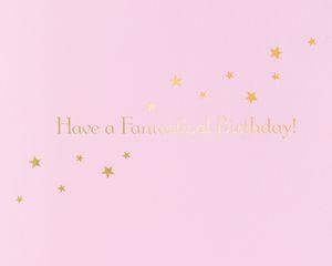Unicorn Cake Birthday Greeting Card