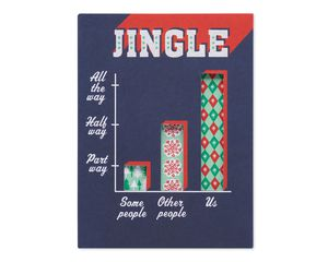 Funny Jingle Christmas Card