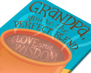 Perfect Blend Father's Day Card for Grandpa