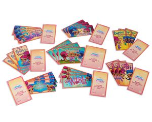 Shimmer & Shine School Valentine's Day Cards, 32 Ct