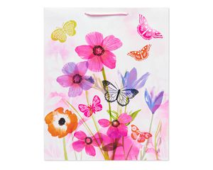 Large Butterfly Garden Gift Bag