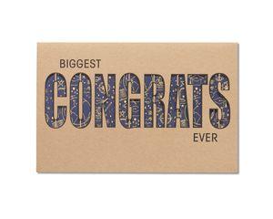 Biggest Congrats Ever Graduation Card