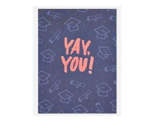 Yay Graduation Card
