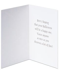Candy Halloween Card, 6-Count