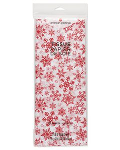 Snowflakes Tissue Paper, 6-Sheets