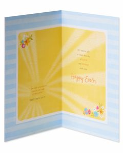 Religious Love and Grace Easter Card