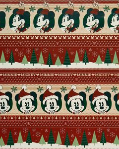 Mickey Mouse™ Retro Christmas Wrapping Paper, 40 Total Sq. Ft.