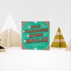 Moolah Christmas Money and Gift Card Holder Greeting Card