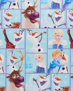 Frozen Christmas Wrapping Paper, 40 Total Sq. Ft.
