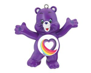 Rainbow Heart Care Bears Christmas Tree Ornament
